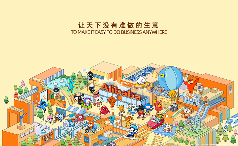 Alibaba Group The alibaba.com app is a shopping wholesale mobile marketplace for global trade. alibaba group